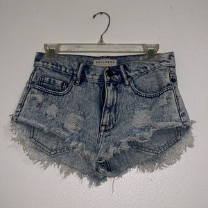 Festival denim shorts